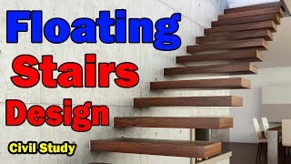 Floating Stairs - Floating Staircase - Stairs Design - Floating Stairs Design In Urdu/Hindi