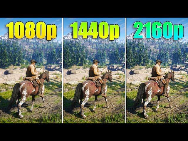 1080p Vs 1440p 2160p Performance Test