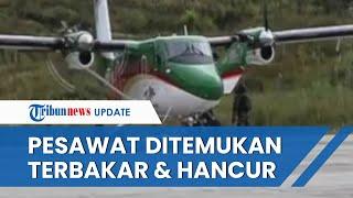 Pesawat Rimbun Air PK-OTW yang Hilang Kontak Telah Ditemukan, Kondisinya Terbakar dan Hancur