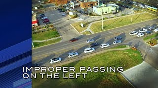 Traffic Points 02: Improper Passing on the Left