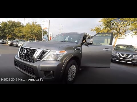 Certified Pre-Owned 2019 Nissan Armada 4x2 SV