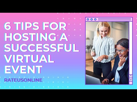 6 Tips for Hosting a Successful and Engaging Virtual Event In the UK