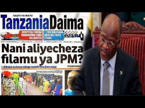 Nani Aliyecheza Filamu ya JPM, MAGUFULI Uongozi ni pamoja na Kuchafuliwa
