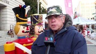 Suasana Pasar Kaget Akhir Tahun di Washington DC