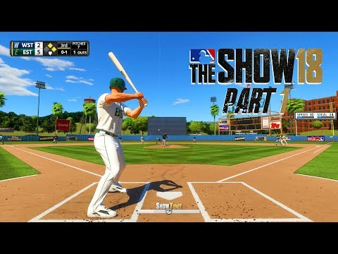 MLB 18 Road to the Show - Part 1 - HERE WE GO!