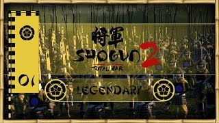 Let's Play Total War: Shogun 2 (Legendary) - Oda - Ep.01 - Peasants Unite!