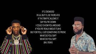 Khalid   Right Back Remix (Ft. A Boogie Wit Da Hoodie) (Lyrics)