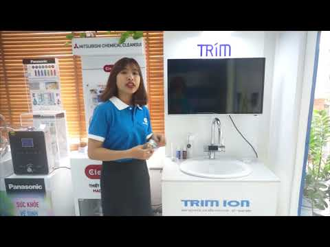 Hướng dẫn sử dụng máy lọc nước Trim Ion Gracia | Thế Giới Điện Giải