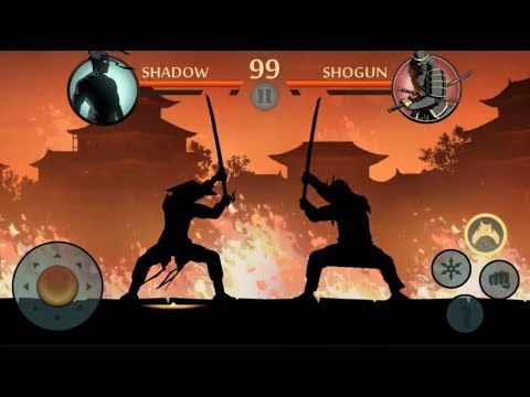 Shadow Fight 2 Special Edition || SHADOW vs SHOGUN Bodyguards