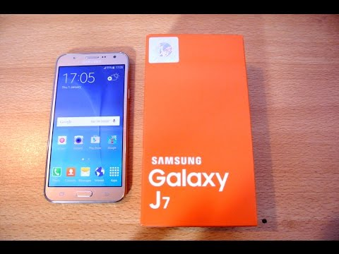 Samsung Galaxy J7 GOLD - Unboxing, Setup & First Look HD