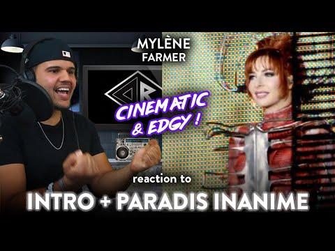 Mylène Farmer Reaction Intro & Paradis Inanimé (STELLAR PERFORMANCE!)  | Dereck Reacts