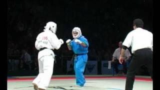 KUDO World Cup 2011. Kolyan (Russia) vs Hirajasu (Japan), Division 230, SemiFINAL.