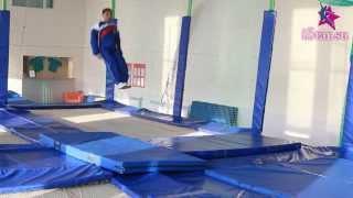 Прыжки на батуте - УРОК 2 - Начинающим   WWW.BATUT.ISTAR.SU