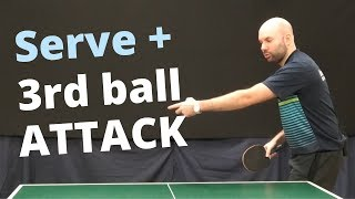 Serve + 3rd Ball Attack (with Craig Bryant)