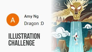 ILLUSTRATION CHALLENGE : DRAGON #DIGITALPAINTING #PHOTOSHOP