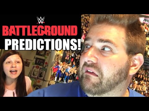 WWE BATTLEGROUND 2016 PREDICTIONS! FULL CARD PPV MATCH ANALYSIS GRIM VS HEEL WIFE BET!