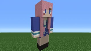Minecraft Tutorial: How To Make An LDShadowLady Statue