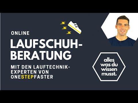 Laufschuh Finder - Online Lauschuh Beratung Damen und Herren Laufschuhe kaufen wie im Sportgeschäft