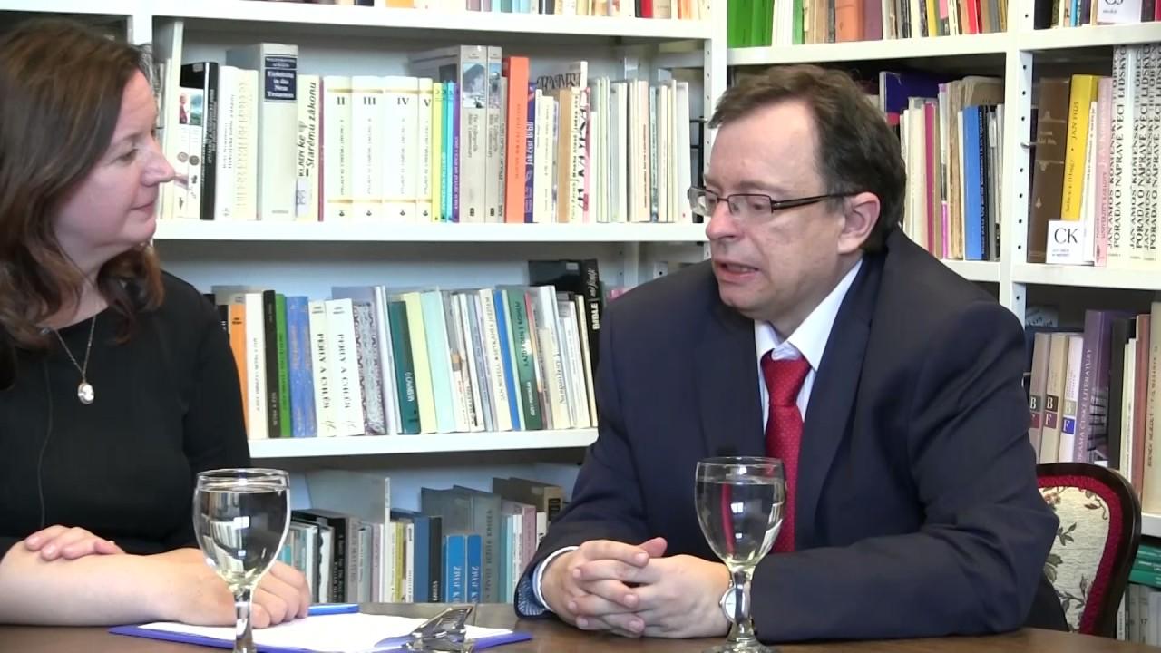 Rozhovor s panem Jaroslavem Šebkem