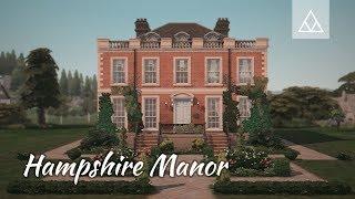 Sims 4   Speedbuild   Hampshire Manor