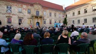 The official launch of the Minority SafePack petition campaign in Bonchida, Transylvania