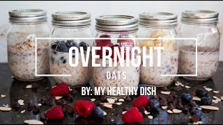 Overnight Oats With My Healthy Dish