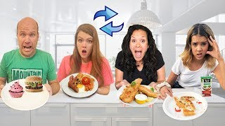 2 FAMILIES Swap Diets for 24 HOURS!