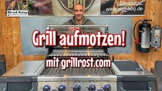 Grill aufmotzen! Alter Grill wie neu oder neuen Grill verbessern - Westmünsterland BBQ