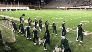 Jeff Davis| DrumLine Playing FunkTrain| | Alabama Vs. Mississippi| All Star Game|