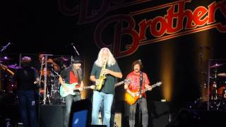 Doobie Brothers ft Scott Sharrard - Don't Start Me Talkin 8-29-15 Jones Beach