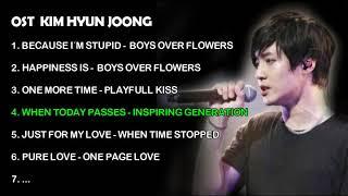 OST Kim Hyun Joong - Dramas