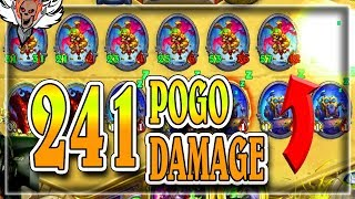241 Damage on Board Pogo Rogue 🍀🎲 ~ Rise of Shadows