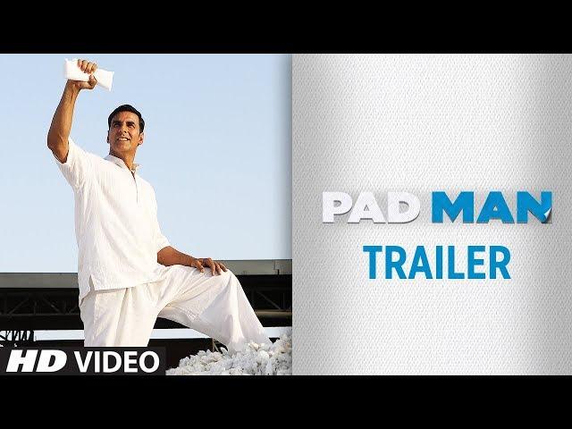 PADMAN Theatrical Trailer | Akshay Kumar | Sonam Kapoor | Radhika Apte