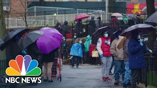 'This Is A Tsunami': Queens Food Pantry Overwhelmed In Face Of COVID-19 | NBC News NOW