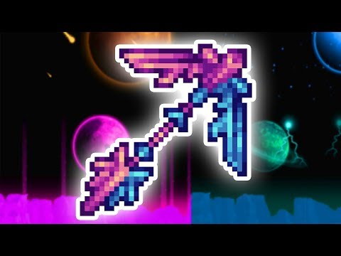 This is the FASTEST Pickaxe in Terraria...