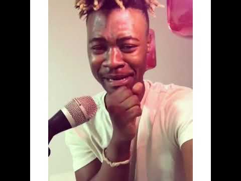 Mlindo The Vocalist Cries In Studio