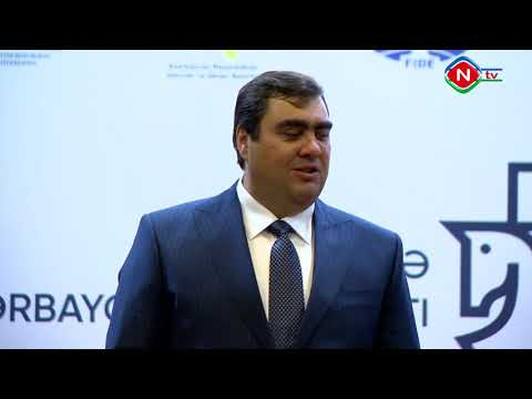 Qadınlar arasında şahmat üzrə Azərbaycan çempionatının açılış mərasimi keçirilib-video 1