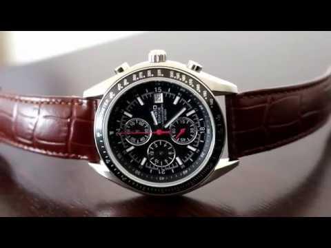 Casio chronograph - speedmaster homage