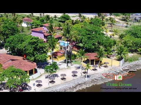 Deck na Barra - Alcobaça, BA por Mobili Drones.