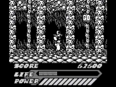 mighty morphin power rangers game boy review