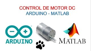 DC Motor Speed   & Direction control   Rotary Encoder   Matlab +