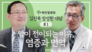 암이 전이되는 이유, 염증과 면역-김진목 장성환 대담1