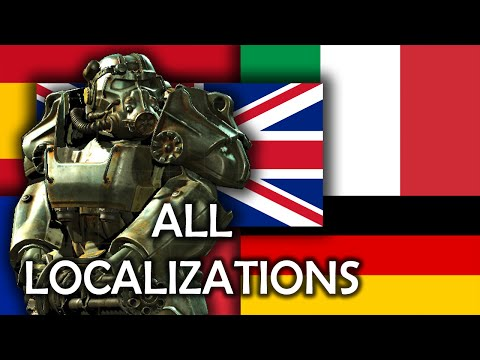 Fallout 4 - All Voice Localizations
