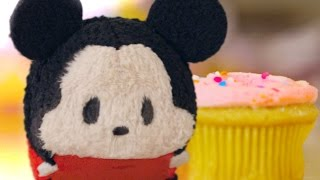 Mickey Mouse Plush Starts Cupcake Battle | Tsum Tsum Kingdom Episode 3 | Disney