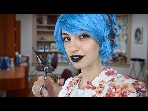 [ASMR] Daisy Cuts and Dyes Your Hair (Soft Spoken Salon Roleplay)