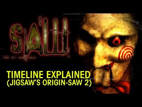 SAW SERIES Timeline Explained Pt.1 (Jigsaw's Origin - Saw 2)