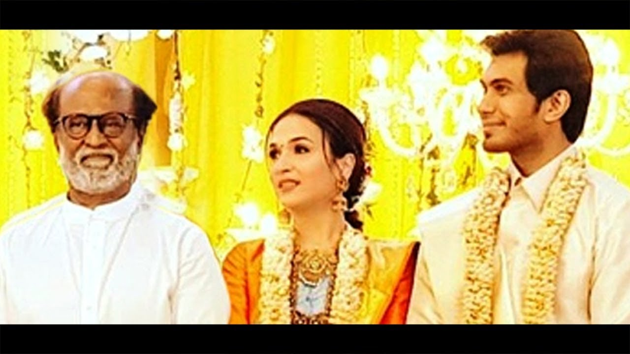 Soundarya Rajinikanth Wedding Reception | Vishagan Vanangamudi | Marriage Video