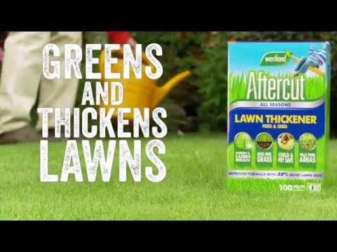 Aftercut Lawn Thickener Feed & Seed Video