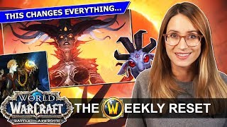 N'zoth Revealed! Why BfA Is Getting Old Gods Right: Azshara Analysis, Azerite & Secret Pets:  News