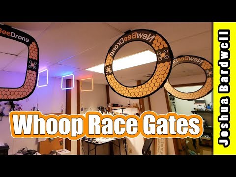 tiny-whoop-gates--racedayquads-newbeedrone-tbs-led-gates